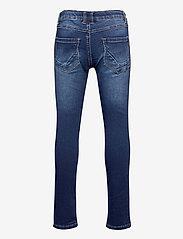 name it - NKMROBIN DNMTOBOS 3455 SWE PANT NOOS - jeans - dark blue denim - 1