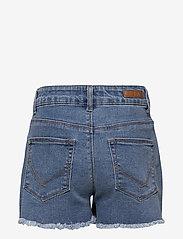 name it - NKFRANDI DNMTECES 2471 HW MOM SHORT NOOS - shorts - medium blue denim - 1