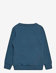 name it - NMMTOMA LS SWEAT BRU - sweatshirts - real teal - 1