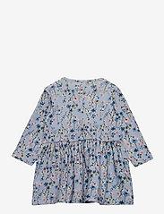 name it - NBFTESSIE LS DRESS - kleider - dusty blue - 1