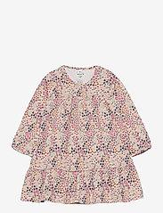 name it - NBFBEATA LS DRESS - kleider - peach whip - 0