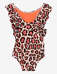 name it - NMFMINNIE MIMI SWIMSUIT WDI - swimsuits - peach whip - 1
