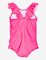 name it - NMFPEPPAPIG MOSSA SWIMSUIT PEP - badeanzüge - knockout pink - 1