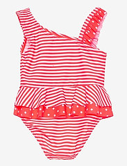 name it - NMFZANANA SWIMSUIT - swimsuits - fiery coral - 1