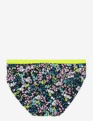 name it - NMFZIFLOWER BIKINI - swimsuits - dark sapphire - 3