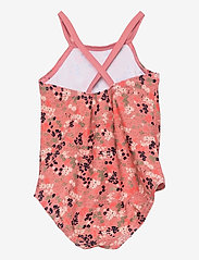 name it - NMFZIFLOWER SWIMSUIT - swimsuits - dusty rose - 1