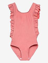 name it - NMFZONA SWIMSUIT - swimsuits - dusty rose - 0