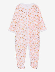 name it - NBFNIGHTSUIT 2P W/F SILVER PINK - langärmelig - silver pink - 3