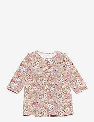 name it - NBFDAHLIA LS DRESS - kleider - peach whip - 0