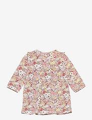 name it - NBFDAHLIA LS DRESS - kleider - peach whip - 1