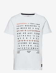 name it - NKMDAHIR SS TOP - t-shirts - bright white - 0