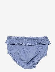 name it - NBFATHIT DNM 2522 S/S DRESS W TROUSERS - kleider - medium blue denim - 3