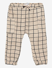 name it - NBMHENRY PANT - kleidung - oatmeal - 0