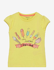 name it - NMFHUMMA SS TOP BOX - t-shirts - lemon verbena - 0