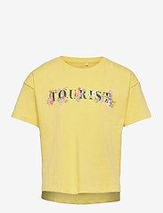 name it - NKFHADIYA SS BOXY TOP - t-shirts - lemon verbena - 0