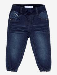 name it - NMMBOB DNMTOLLYS 3532 PANT - jeans - dark blue denim - 0