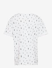 name it - NKMVEJON SS BOXY TOP H - t-shirts - bright white - 1
