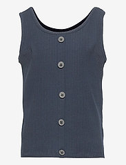 name it - NKFVAJA SHORT TANK TOP HH - t-shirts - dark sapphire - 0