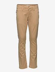 name it - NKMROBIN TWIFRANK CHINO CR - trousers - beige - 0