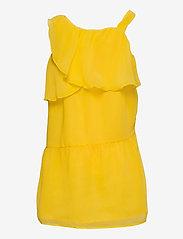 name it - NKFBEMERLE SL DRESS - kleider - primrose yellow - 1