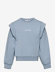 name it - NKFHOWAY LS SWEAT BRU - sweatshirts - dusty blue - 0