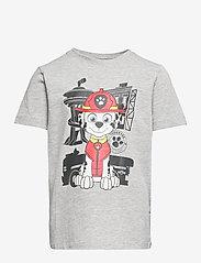 name it - NMMPAWPATROL THIAGO SS TOP BOX VDE - t-shirts - grey melange - 0