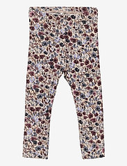 name it - NBFBEFRIDA SXL LEGGING - leggings - peyote melange - 0