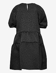 name it - NKFSALAST SS DRESS - kleider - black - 1