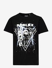 name it - NKMROBLOX MITCHELL SS TOP BOX BIO - t-shirts - black - 0