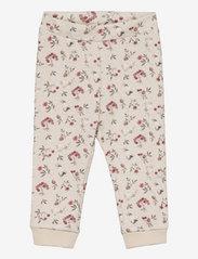 name it - NBFNIKOLINE SWEAT PANT - jogginghosen - peyote melange - 0