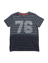 NITHFAVI SS TOP NMT - DRESS BLUES