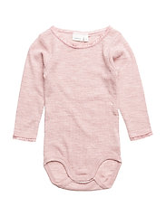 NITWANGFLO WOOL NEEDLE LS BODY NB NOOS - WOODROSE