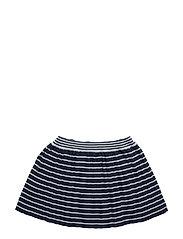 NITFINESSA KNIT SKIRT MZ - DRESS BLUES