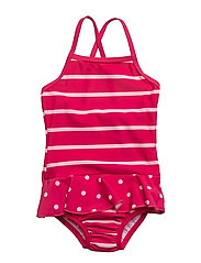 NITZARINA SWIMSUIT W SHIELD MZ - BRIGHT ROSE