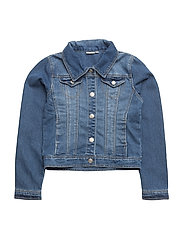 NITSTAR RIKA DNM JACKET NMT NOOS - MEDIUM BLUE DENIM