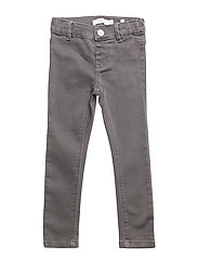 NITTERA SKINNY DNM PANT MINI NOOS - DARK GREY DENIM