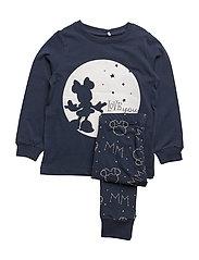 NITMINNIE JACEY NIGHTWEAR F MINI WDI - DRESS BLUES