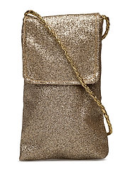 NITACC-LEFULLE GLITTER MOBILEBAG F - FROSTED ALMOND