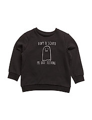 NITETTEETH LS SWEAT N NB - BLACK