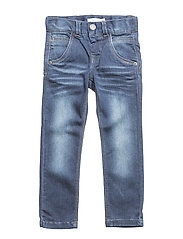NITTAMO XSL/XSL DNM PANT MINI NOOS - DARK BLUE DENIM