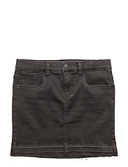 NKFTENNE DNM SKIRT 7002 - BLACK DENIM