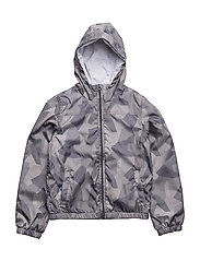 NKMMIX AOP JACKET CAMP - ODYSSEY GRAY