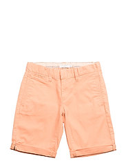 NKMRYAN TWIANDERS CHINO SHORTS AD - COPPER TAN