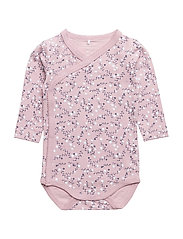 NBFERMILLA LS WRAP BODY - DAWN PINK