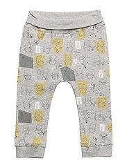 NBNWINNIE CAMB PANTS WDI - GREY MELANGE