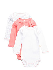 NBFBODY 3P LS CORAL NOOS - SUNKIST CORAL