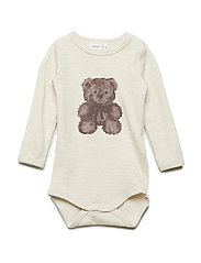 NBNWUP WOOL/CO LS  BODY UNI - PEYOTE