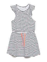 NMFDERLA CAPSL DRESS - BRIGHT WHITE