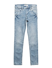 NKMSILAS DNMTACAY 1035 PANT - LIGHT BLUE DENIM