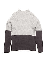 NITHOFIA LS KNIT W. TURTLE NECK F NMT - SKY CAPTAIN